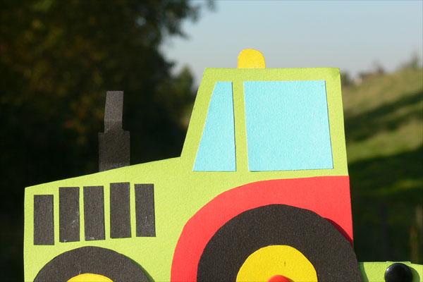 Traktor Basteln In 4 Schritten Bist Du Zu 1